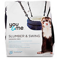 You & Me Slumber and Swing Plush Bed For Ferrets