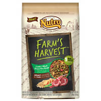 Nutro Farm's Harvest Lamb & Whole Brown Rice Adult Dog Food
