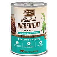Merrick Limited Ingredient Diet Real Duck Recipe Dog Food