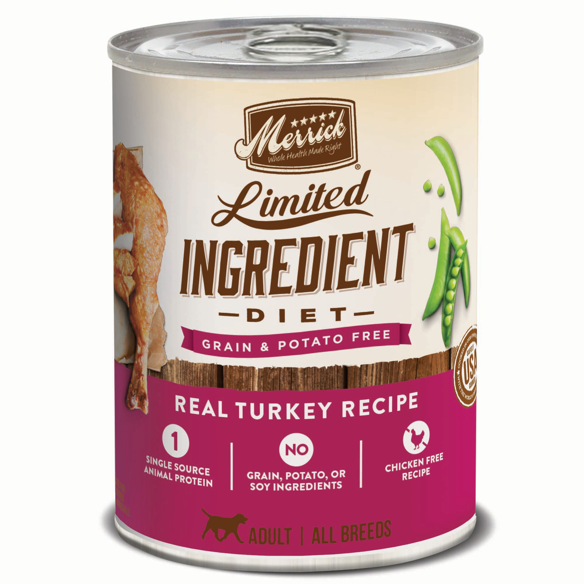 Merrick Limited Ingredient Diet Real Turkey Recipe Dog Food