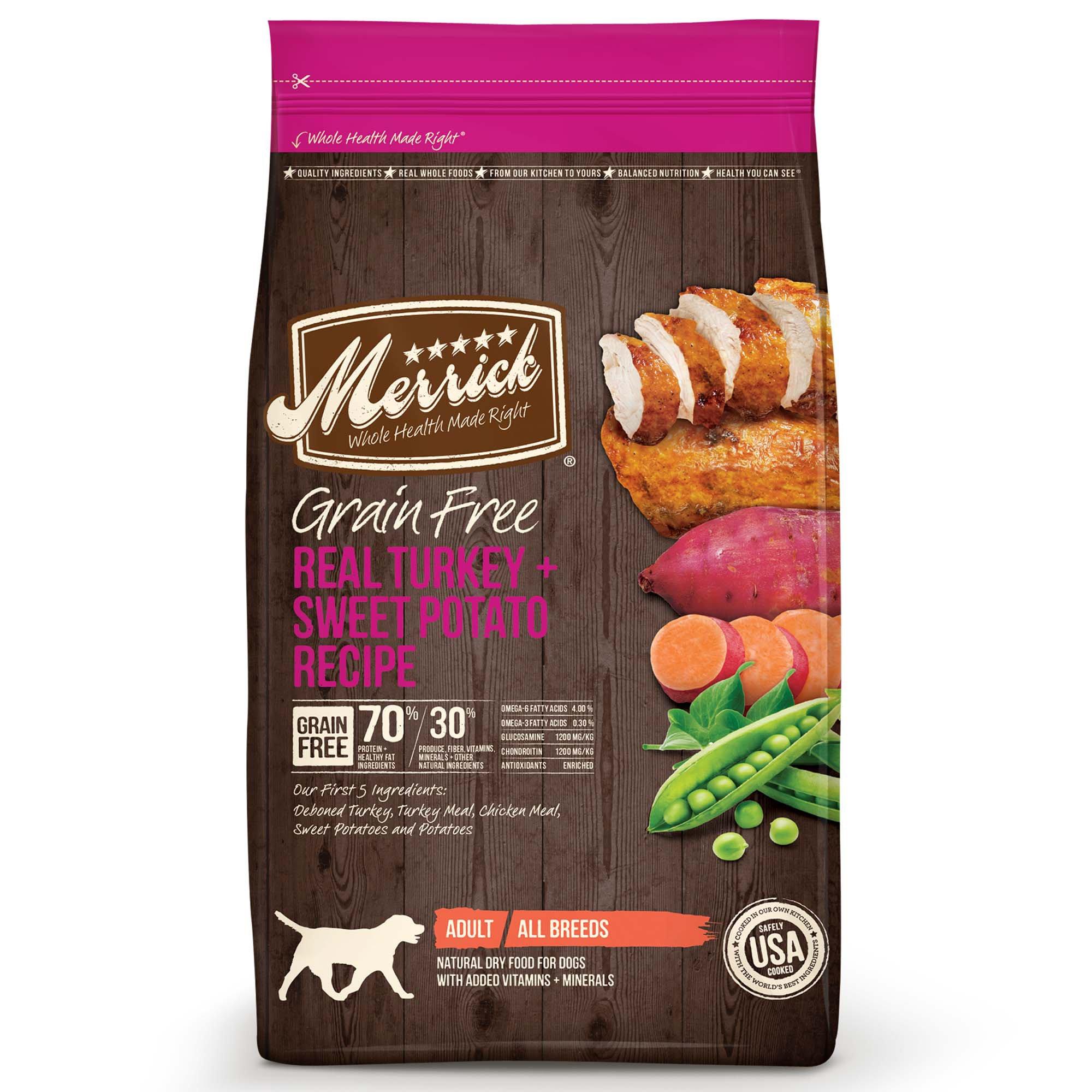 Grain Free Turkey And Sweet Potato Dog Food