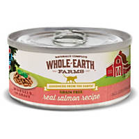Whole Earth Farms Grain Free Real Salmon in Gravy Canned Cat Food