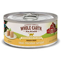 Whole Earth Farms Grain Free Real Chicken Canned Cat Food