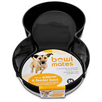 Bowlmates by Petco Black Base for Gravity Feeder or Waterer