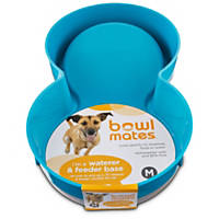 Bowlmates by Petco Medium Blue Base for Gravity Feeder or Waterer