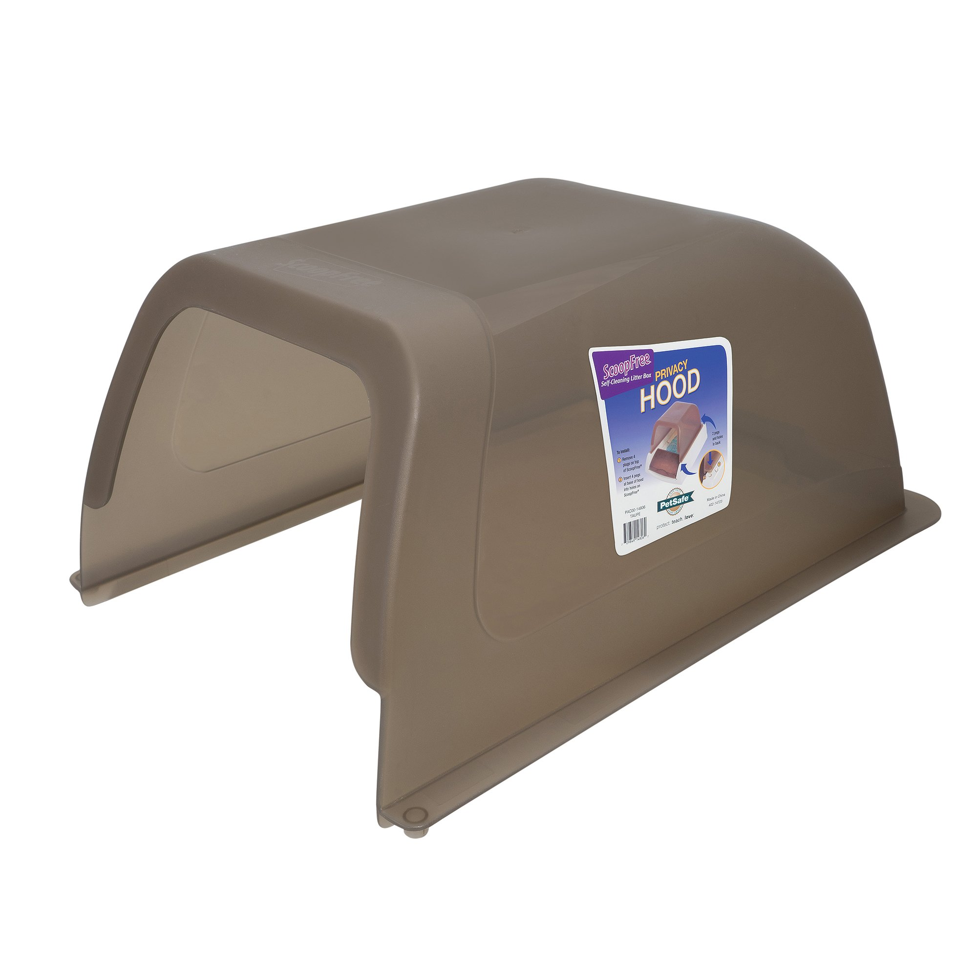 ScoopFree Taupe Privacy Hood