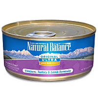 Natural Balance Ultra Whole Body Health Venison, Turkey & Lamb Canned Cat Food