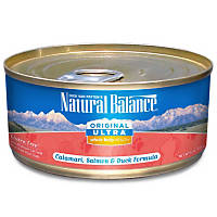 Natural Balance Ultra Whole Body Health Calamari, Salmon & Duck Canned Cat Food