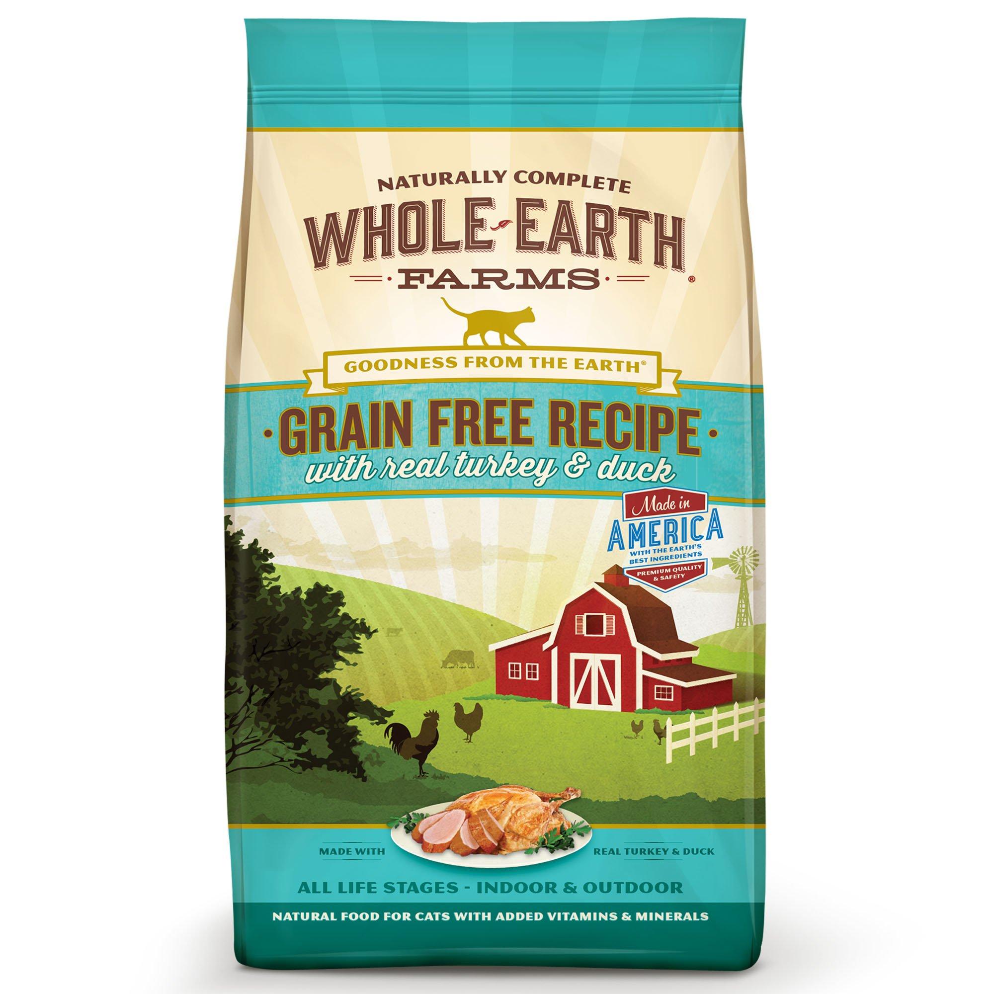 Whole Earth Farms Grain Free Turkey Duck Dog Food