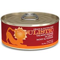 Soulistic Moist & Tender Salmon Dinner Adult Canned Cat Food in Gravy