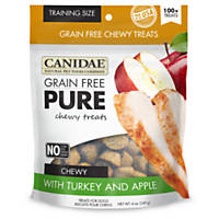 Canidae Grain Free Pure Sweet Turkey & Apple Chewy Training Dog Treats
