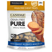 Canidae Grain Free Pure Sweet Potato & Duck Chewy Training Dog Treats