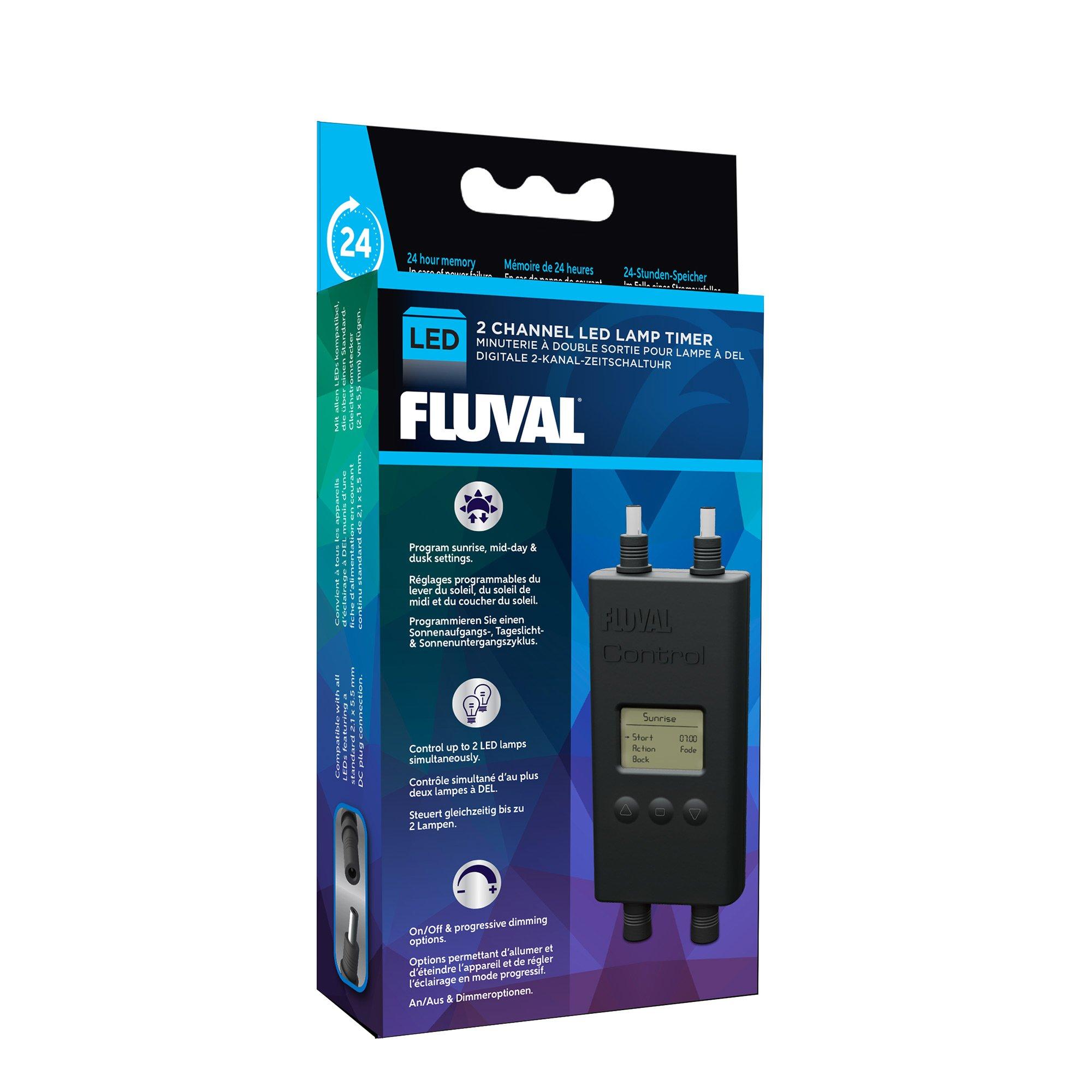 Fluval 2 Channel LED Lamp Timer