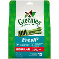 Greenies Freshmint Regular Dental Dog Treats