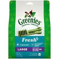 Greenies Freshmint Large Dental Dog Treats