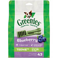 Greenies Blueberry Teenie Dental Dog Treats