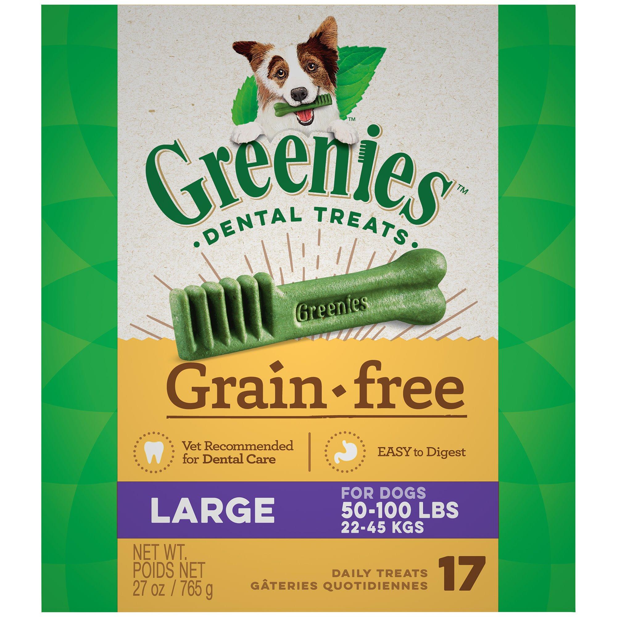 Greenies Grain Free Large Dental Treats