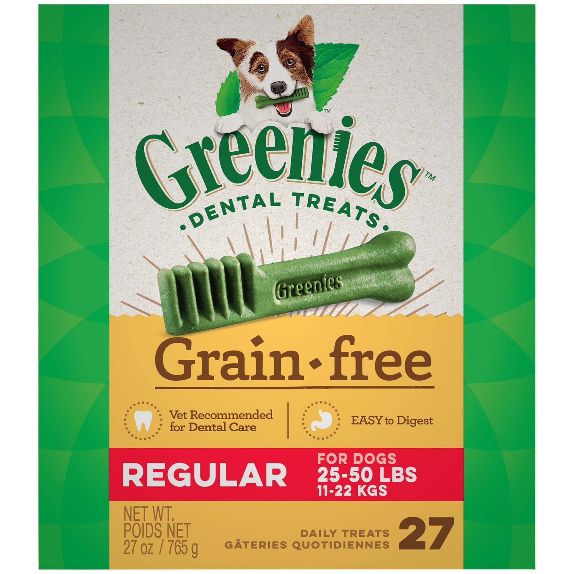 Greenies Grain Free Regular Dental Treats