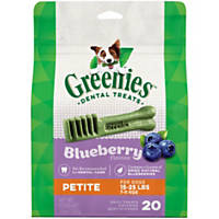 Greenies Blueberry Petite Dental Dog Treats
