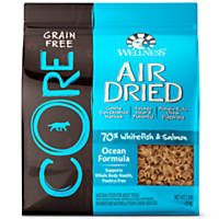 Wellness CORE Air Dried Whitefish & Salmon Grain Free Adult Dog Food