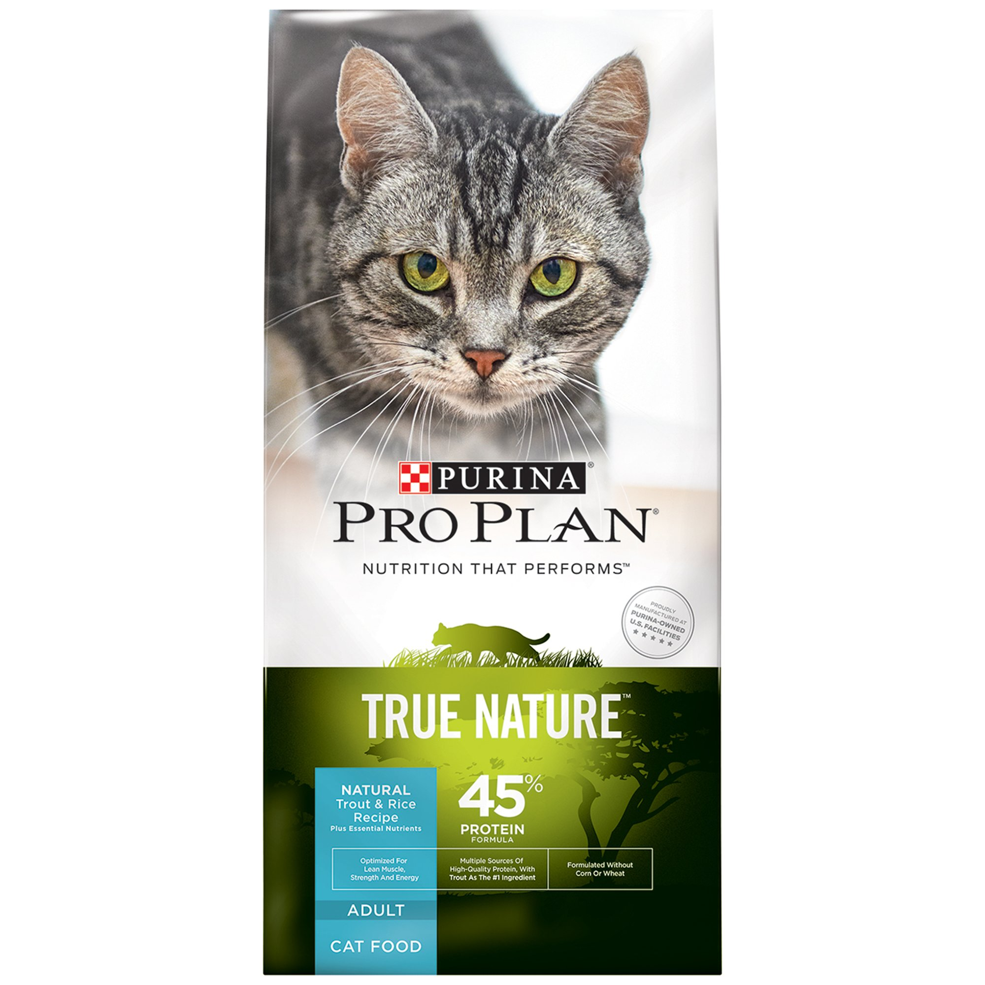 Pro Plan True Nature Trout & Rice Adult Cat Food