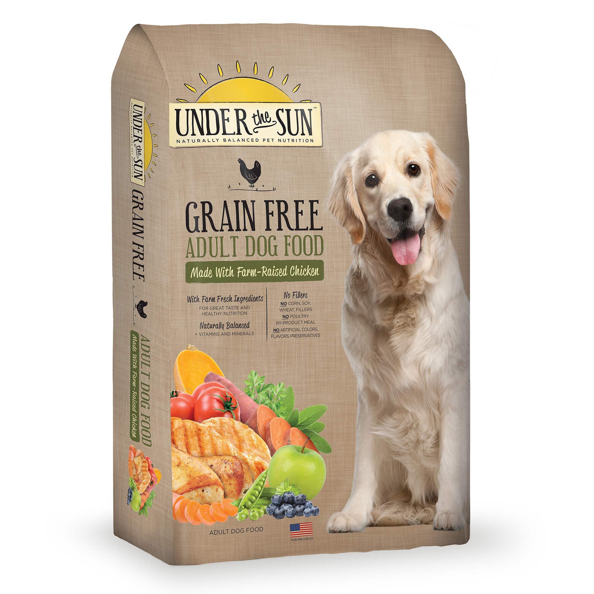 Under The Sun Grain Free Chicken Adult Dog Food