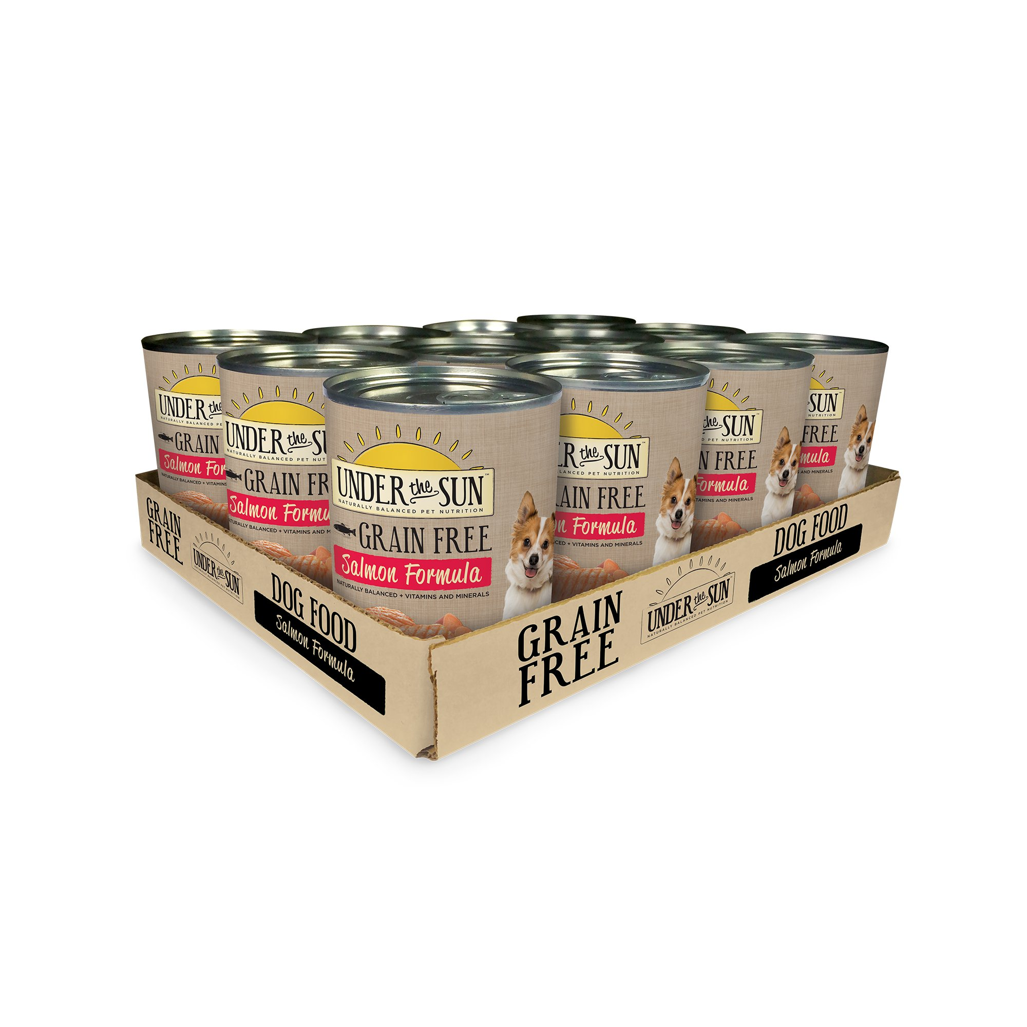 Under The Sun Grain Free Salmon Canned Adult Dog Food