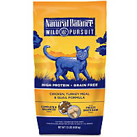Natural Balance Wild Pursuit Chicken, Turkey & Quail Cat Food