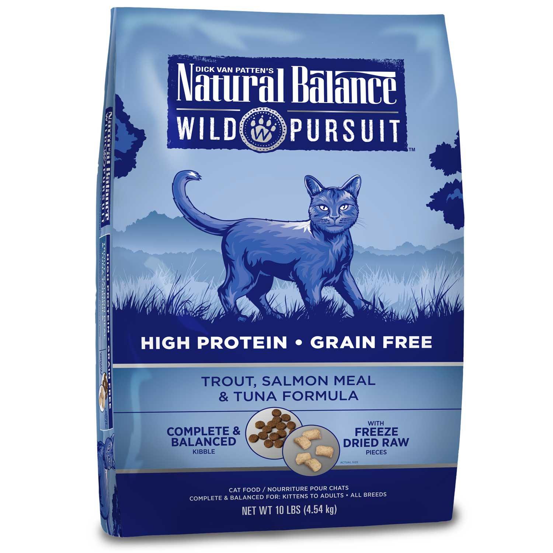 Natural Balance Wild Pursuit Trout, Salmon & Tuna Cat Food