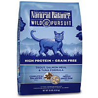 Natural Balance Wild Pursuit Trout, Salmon & Tuna Cat Food