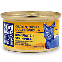 Natural Balance Wild Pursuit Chicken, Turkey & Quail Canned Cat Food