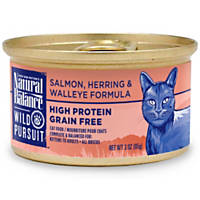 Natural Balance Wild Pursuit Salmon, Herring & Walleye Canned Cat Food
