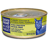 Natural Balance Wild Pursuit Turkey, Chicken & Guinea Fowl Canned Cat Food