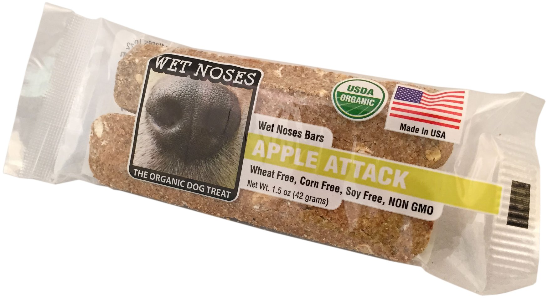 Wet Noses Apple Attack Bar Dog Treat