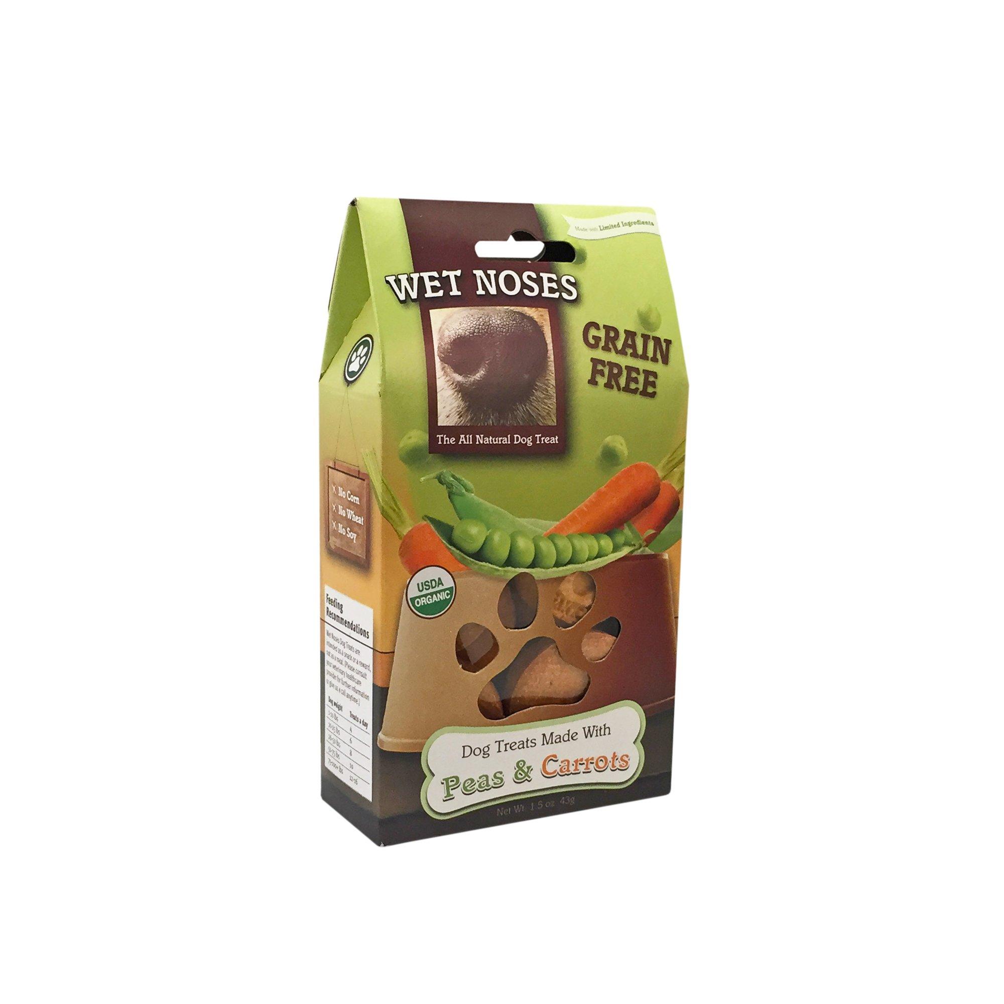 Wet Noses Grain Free Peas & Carrots Dog Treats