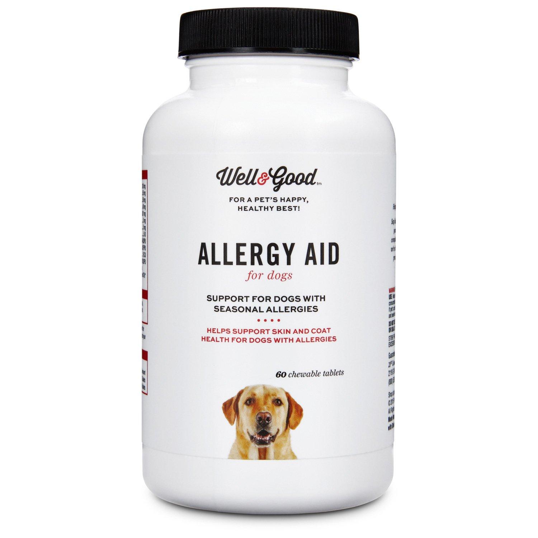 Well & Good Allergy Aid Dog Tablets