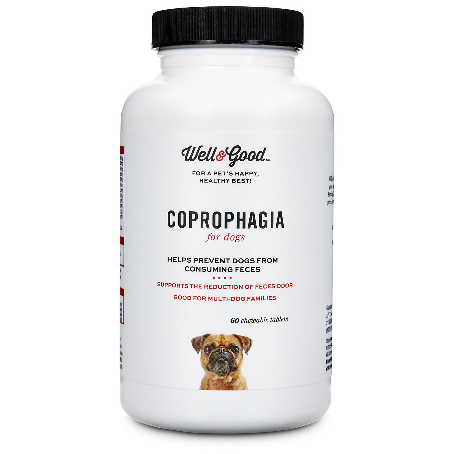 Well Good Coprophagia Dog Tablets 120 Count