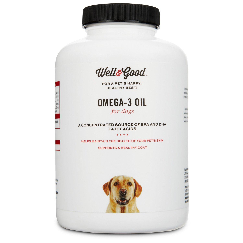 Well & Good Skin & Coat Omega-3 Dog Capsules