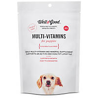 Well & Good Puppy Stage Daily Soft Chews Dog Vitamins