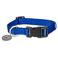 Good2Go Adjustable Blue Nylon Dog Collar