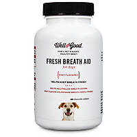 Well & Good Fresh Breath Dog Tablets
