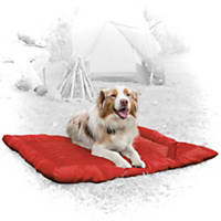 Kurgo Loft Wander Red Travel Dog Bed