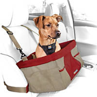 Kurgo Rover Heather Booster Dog Car Seat