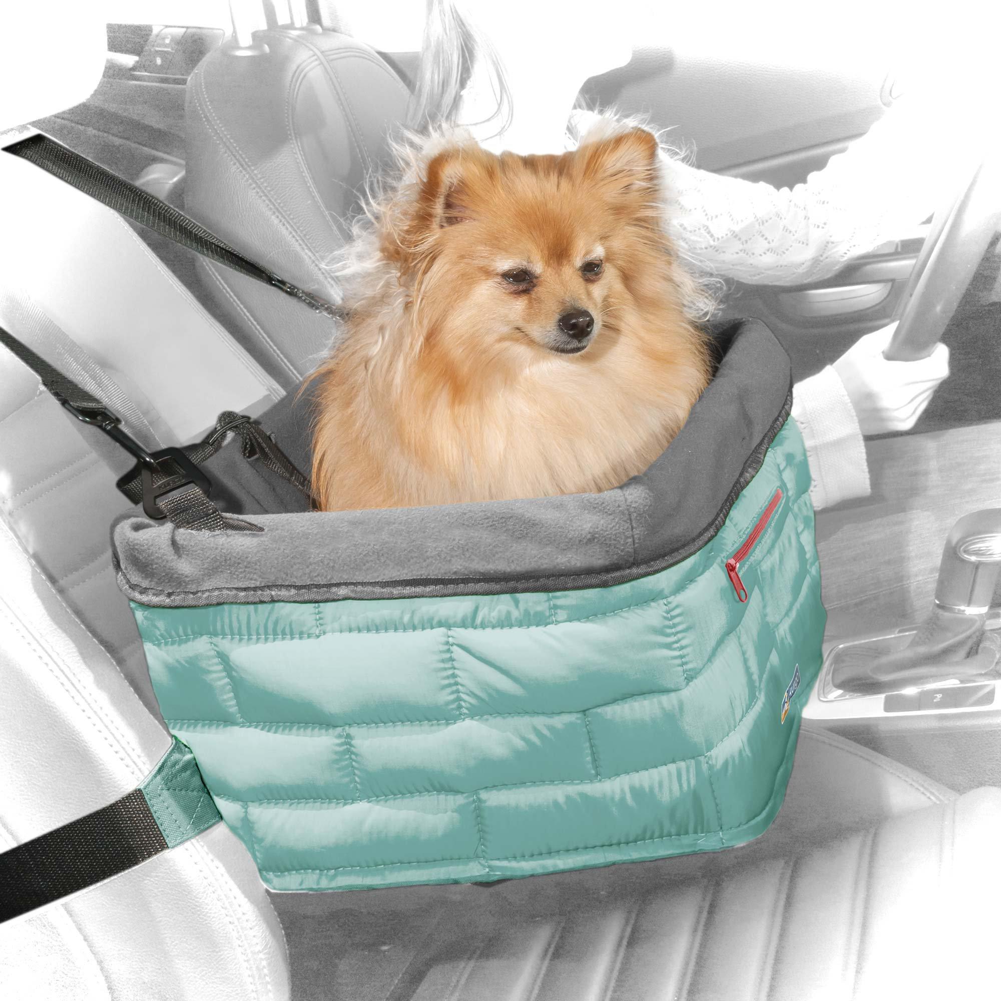 Kurgo Loft Booster Turquoise Dog Car Seat