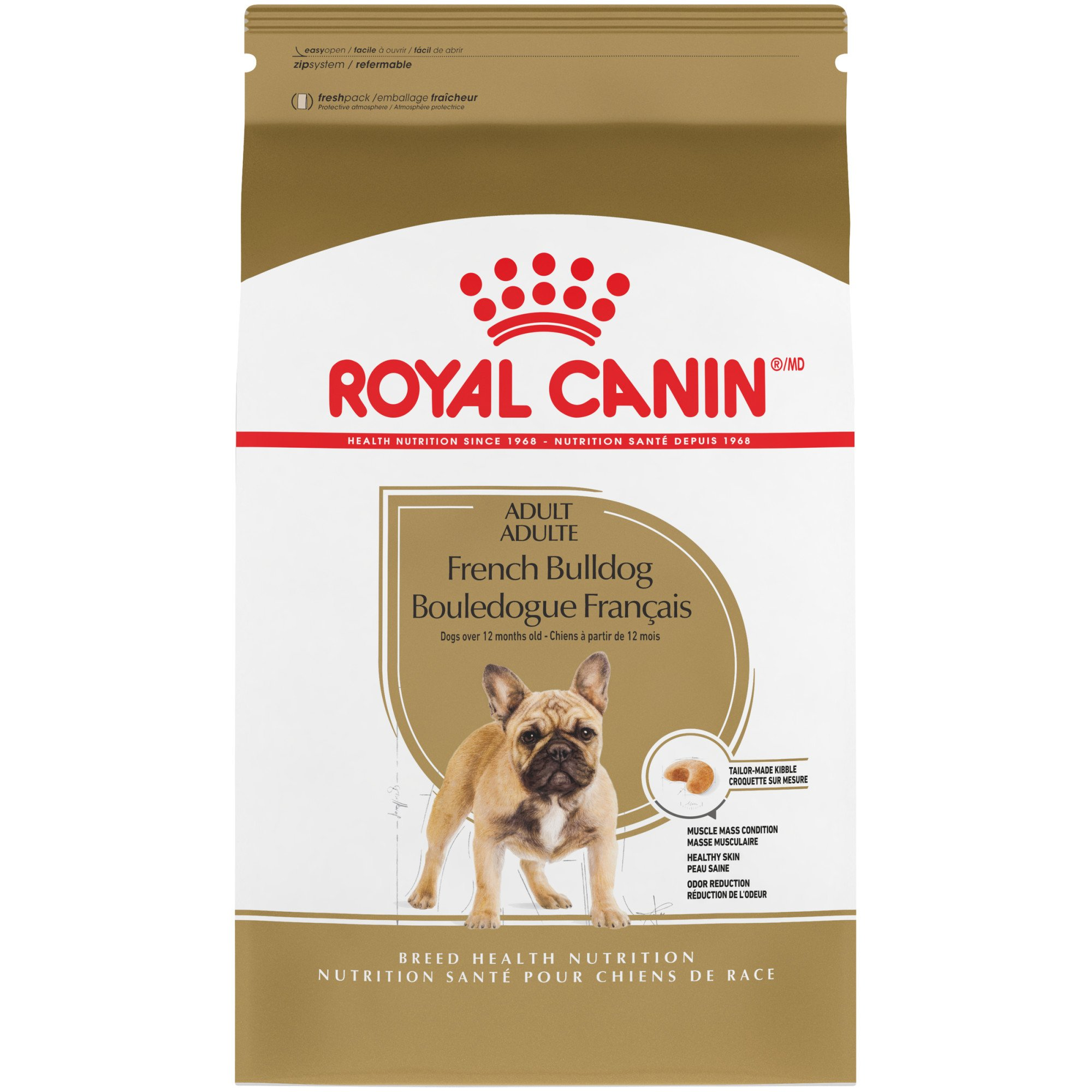 royal canin canine health nutrition french bulldog dog food petco. Black Bedroom Furniture Sets. Home Design Ideas