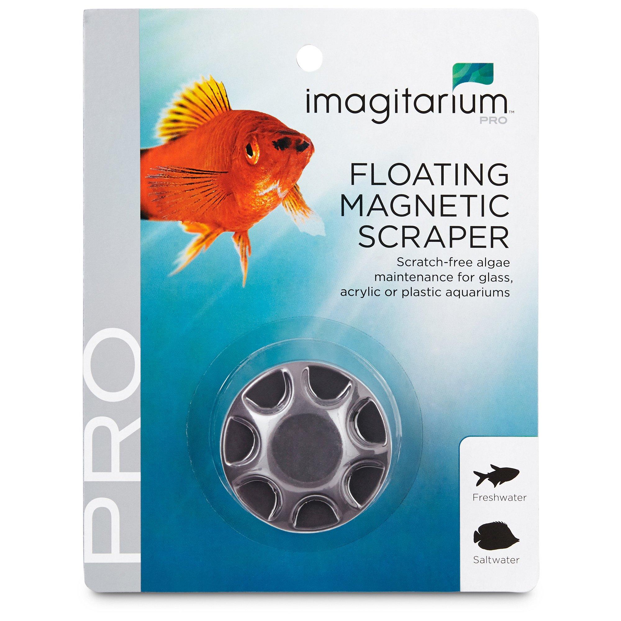 Imagitarium Mini Floating Magnet Aquarium Scraper