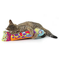 Petstages Crunch & Wrestle Fish Cat Toy
