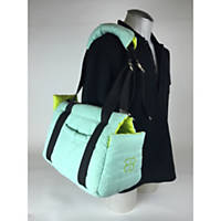 Pet Ego Bitty Bag Turquoise & Lime Pet Carrier