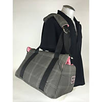 Pet Ego Bitty Bag Gray & Pink Pet Carrier