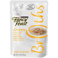 Fancy Feast Broths Creamy Tuna